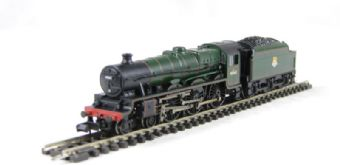 """372-476 Class 6P Jubilee 4-6-0 45611 """"Hong Kong"""" & 4000 gallon tender in BR green with early emblem and riveted stanier tender"""