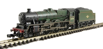 """372-478 Class 6P Jubilee 4-6-0 45698 """"Mars"""" & 4000 gallon tender in BR lined green with late crest"""