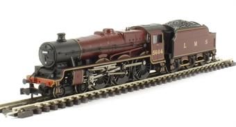 372-480 Class 6P Jubilee 4-6-0 5664 'Nelson' in LMS Crimson