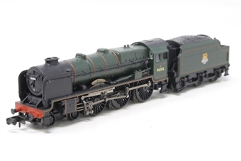 372-576-PO05 Class 6P Rebuilt Royal Scot 4-6-0 46106 Gordon Highlander with BR smoke deflectors & tender in BR green with early emblem - Pre-owned - Noisy runner