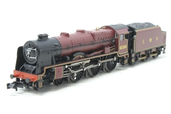 372-578-PO Class 6P Rebuilt Royal Scot 4-6-0 6100 'Royal Scot' in LMS Crimson (as preserved) - Pre-owned - Poor runner, missing rear coupling