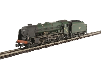 372-579 Class 6P Rebuilt Royal Scot 4-6-0 46122 'Royal Ulster Rifleman' in BR green with late crest - weathered