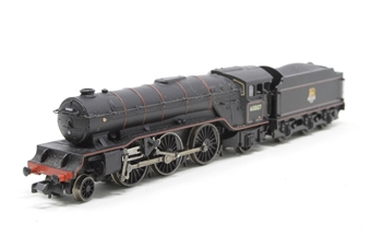 372-601-PO04 Class V2 2-6-2 60807 in BR lined black with early emblem - Pre-owned - sold as seen - inconsistent runner - missing part of packaging - poor outer sleeve
