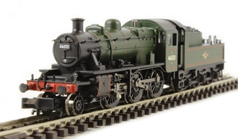 372-625 Class 2MT Ivatt 2-6-0 46521 in BR lined green with late crest