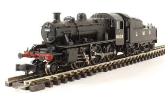 372-627 Class 2MT Ivatt 2-6-0 6404 in LMS black