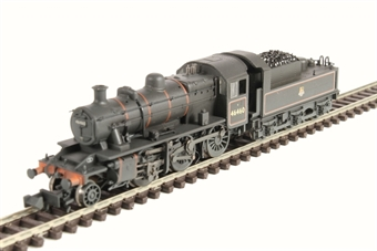 372-629 Class 2MT Ivatt 2-6-0 46460 in BR lined black with early emblem - weathered