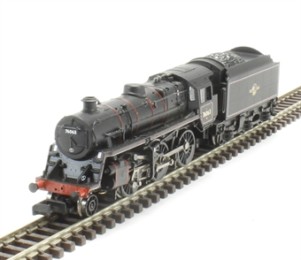 372-654 Class 4MT Standard 2-6-0 76063 in BR lined black with late crest