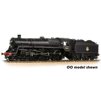 372-727A Standard Class 5MT 4-6-0 73109 in BR black with early emblem