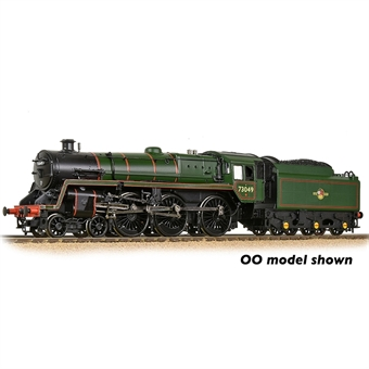 372-728SF Standard Class 5MT 4-6-0 73049 in BR green with late crest - Digital sound fitted