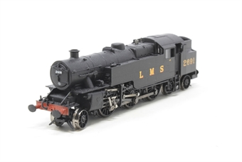 372-750-PO08 Class 4MT Fairburn 2-6-4T 2691 in LMS black - Pre-owned - DCC fitted