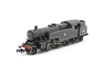 372-751-PO04 Class 4MT Fairburn 2-6-4T 42096 in BR black with early emblem - Pre-owned - DCC fitted, poor runner, missing buffer