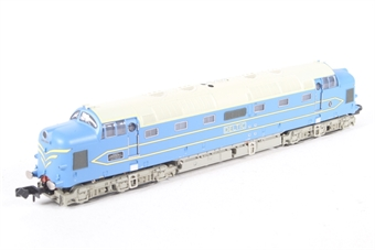 372-920-HX01 Deltic Prototype DP1 Blue & Cream - Pre-owned - DCC fitted, replacement box £90