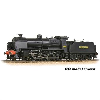 372-936 Class N 2-6-0 1860 in SR wartime black