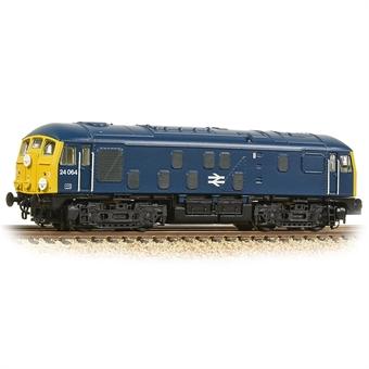 372-975A Class 24/0 24064 in BR blue