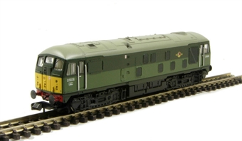372-977 Class 24 D5038 in BR 2 Tone Green with Late Crest