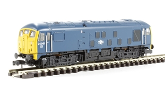372-978 Class 24 24081 BR Blue with Yellow Ends