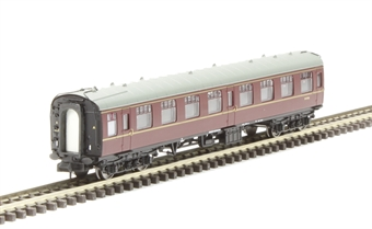 374-012D Mk1 SO second open M4780 in BR maroon