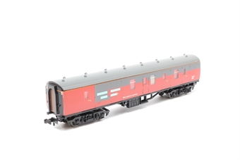 "374-032A-PO02 Mk1 NEX full brake in ""RES"" red/grey - Pre-owned - replacement box"