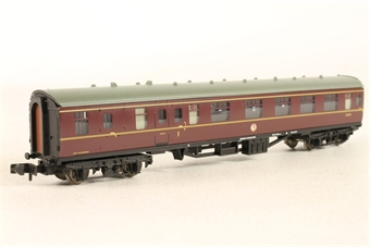 374-078-LN Mk1 BCK brake composite in BR (E) maroon - Pre-owned - Like new