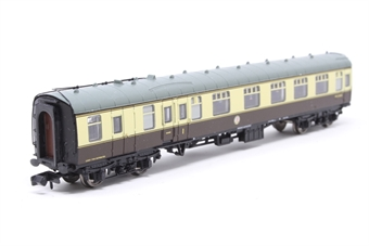 374-082-PO03 Mk1 BCK brake corridor composite in chocolate & cream (Blue Riband). - Pre-owned - missing coupling £20