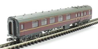 374-084A Mk1 BCK Brake Corridor Composite Maroon - Weathered
