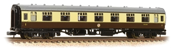 374-163A BR Mk1 FK First Corridor Chocolate & Cream