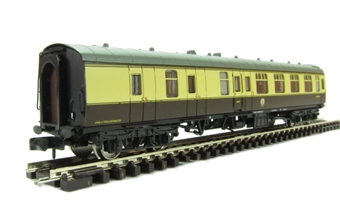 374-189B Mk1 BSK brake second corridor in chocolate & cream