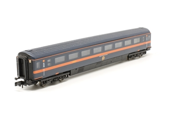 """374-327C-PO03 Mk3 2nd class TS coach in """"GNER"""" livery - Pre-owned - replacement box"""
