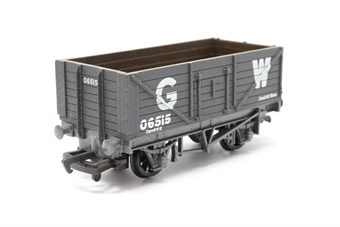 37405-PO06 7 plank wagon in GWR grey - Pre-owned - Like new, imperfect box