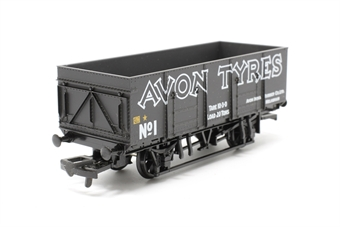 37459-PO05 20T mineral wagon 'Avon Tyres' black - Pre-owned - Like new, imperfect box