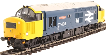 """3751 Class 37/4 37408 """"Loch Rannoch"""" in BR large logo blue with black headcode boxes - Exclusive to Hatton's"""