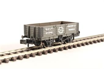 377-059 5 Plank Wagon with Wooden Floor 'Salt Union'