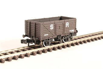377-089 7 Plank Fixed End Wagon SR Brown