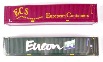 379-370 45ft container Eucon & ECS - Pack of 2