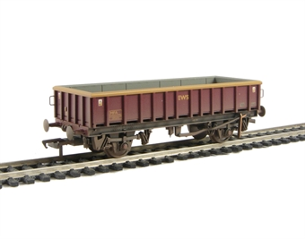 38-013A 24 tonne glw MFA open box mineral wagon in EWS livery - weathered £9