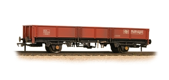 38-056B 31 Tonne OCA Dropside Open Wagon Railfreight Red - Weathered