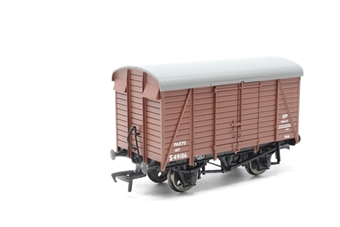 38-071A-PO07 12 Ton Southern Planked Vent Van S49186 in BR Bauxite Livery Media Ltd) - Pre-owned - Like new - imperfect box