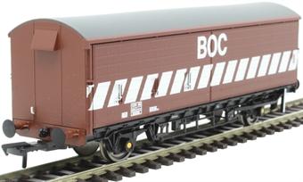 38-122OL1 VBA barrier van in BOC bauxite - to work with BOC tank wagons - 200291