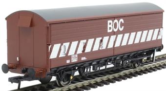 38-122OL2 VBA barrier van in BOC bauxite - to work with BOC tank wagons - 200292