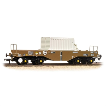 38-345B BR FNA Nuclear Flask Wagon Flat Floor With Flask