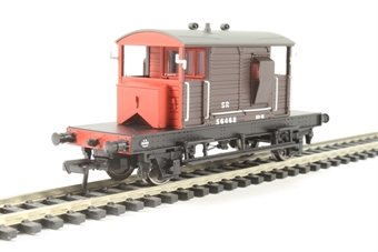 38-400A SR 25 Ton Pill Box brake van 56462 in SR Brown