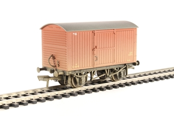 38-477 12 Ton Non-ventilated Van BR Bauxite (Early) Weathered