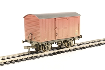 38-478 12 Ton Non-ventilated Van BR Bauxite (Late) Weathered