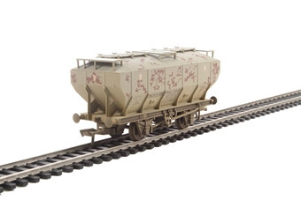 38-501A CovHop in Soda Ash light grey - heavily weathered