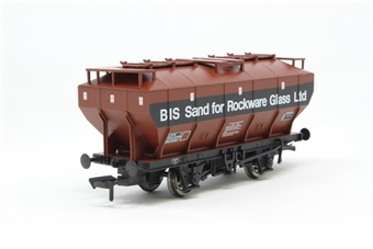 38-502-PO02 'Covhop' covered hopper in British Industrial Sand bauxite & black - Pre-owned - Like new