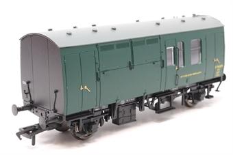 38-526Z-PO04 BR Mk1 Horse Box Green SR - Pre-owned - Like new