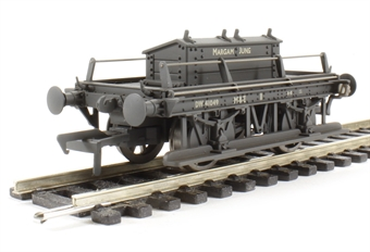 38-679 ex-GWR shunters truck DW41049 in BR grey - 'Margam Junction' - weathered