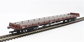 38-900 Mk1 carflat wagon B745080 in BR bauxite