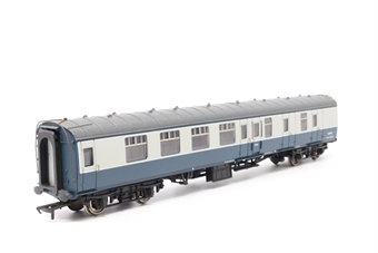 39-025-PO11 BR Mk1 SK 2nd corridor in blue/grey - Pre-owned - corroded pipework - imperfect box