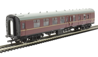 39-076H Mk1 BSK brake second corridor E35083 in BR Maroon